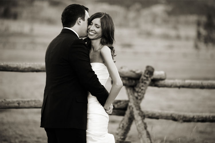 Colorado Ranch wedding couple1 Weddings
