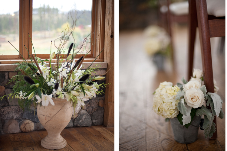 timberhouse wedding flowers Neysa and Scott | Devils Thumb Ranch Fall Wedding | Love This Day Events