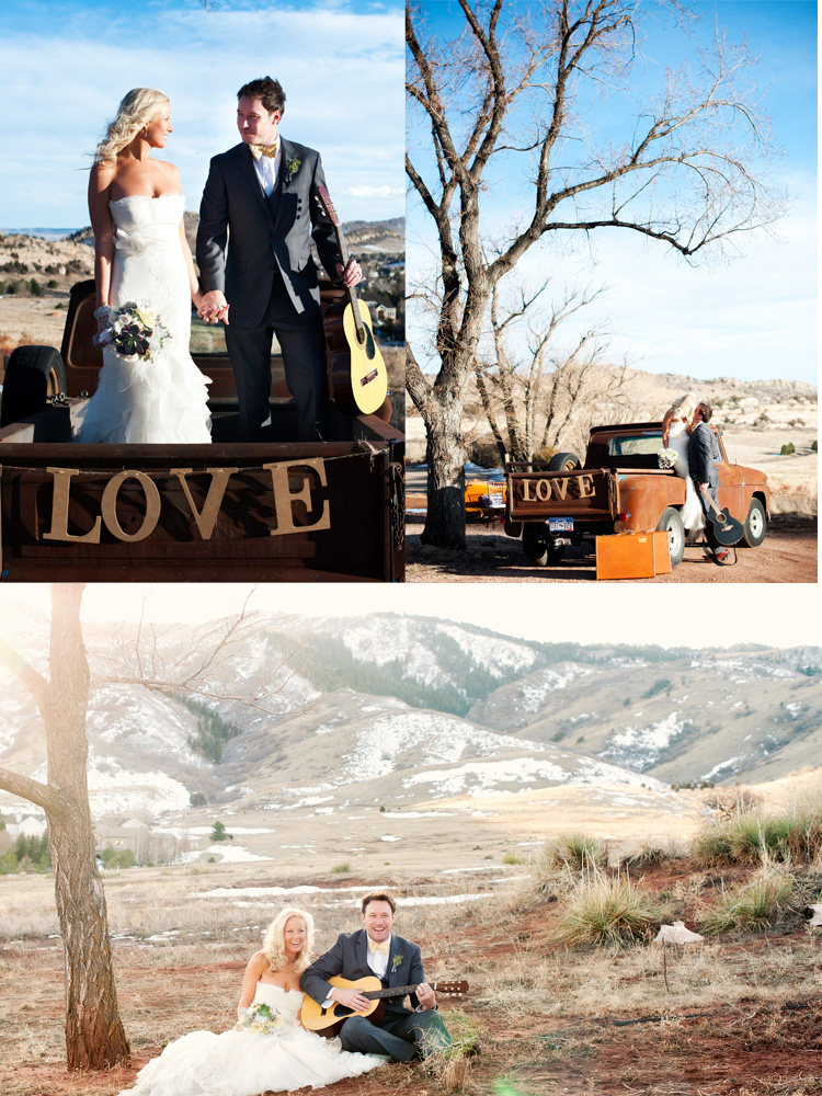 vintage truck wedding Vow Renewal | Love This Day | Brinton Studios