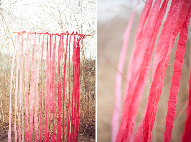 DIY ombre backdrop 10 Ombre | Colorado Wedding Trends