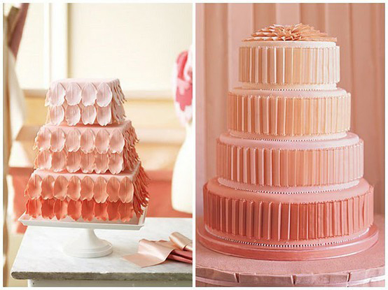 colorado wedding trend 2 Ombre | Colorado Wedding Trends