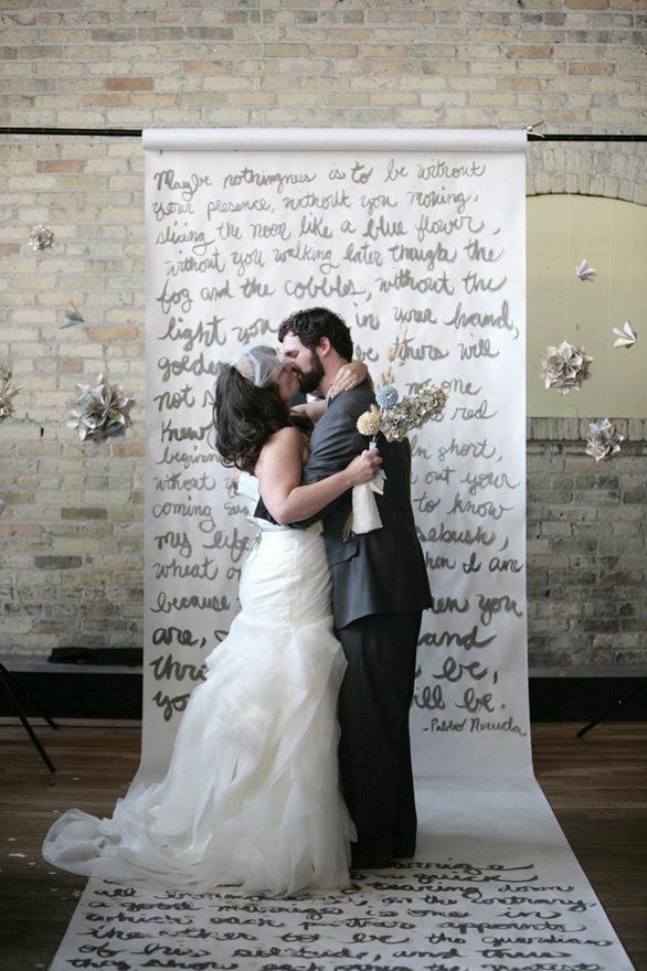 Colorado Wedding Ideas – Aisle Runner / Ceremony Backdrop | Love ...