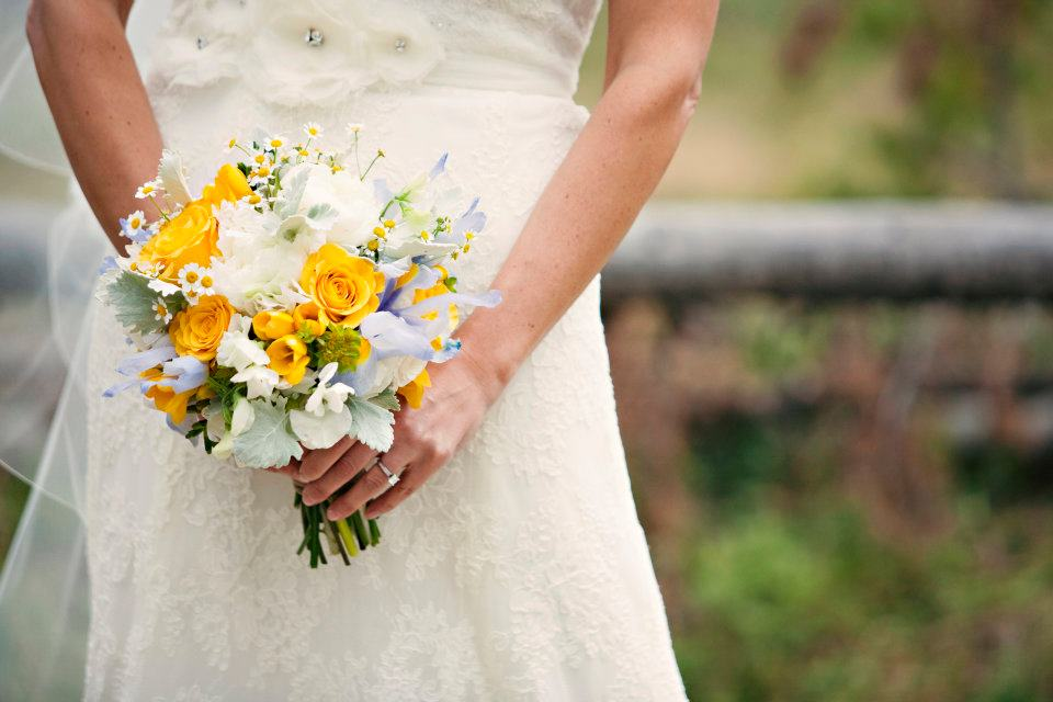 wildflower bouquet by Love This Day Events