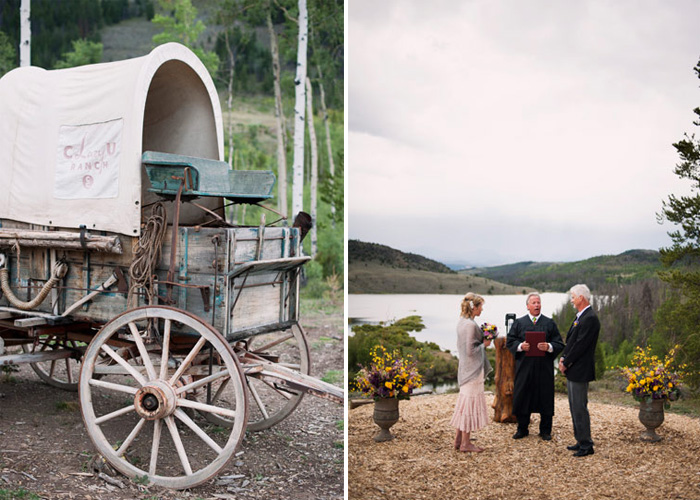C lazy u wedding C Lazy U Ranch Wedding   Colorado Elopement