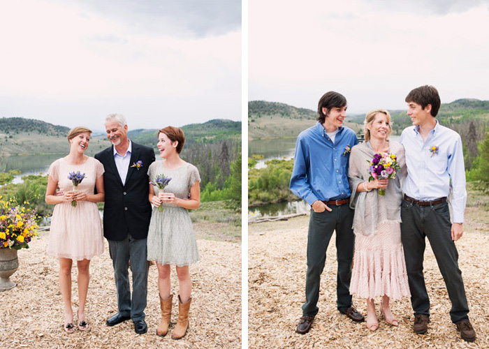CLU wedding C Lazy U Ranch Wedding   Colorado Elopement