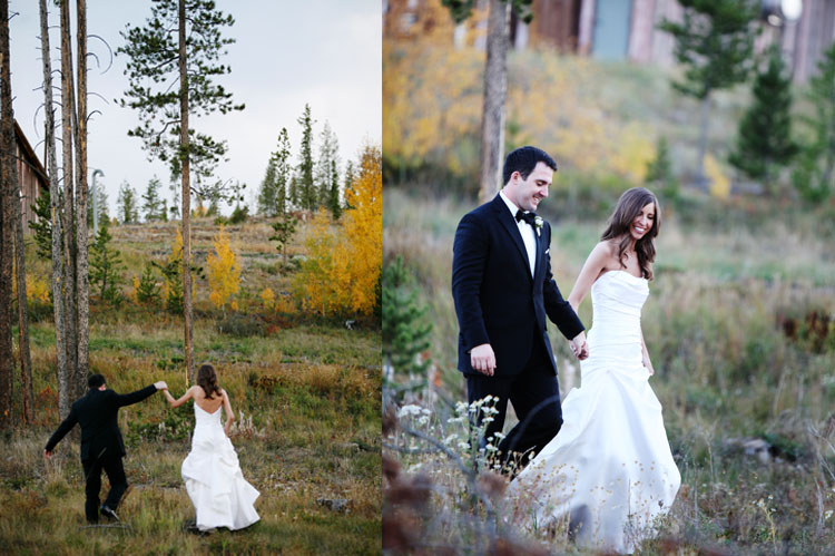 fall wedding at Devils Thumb Ranch Devils Thumb Ranch Wedding   Jennifer and Rob