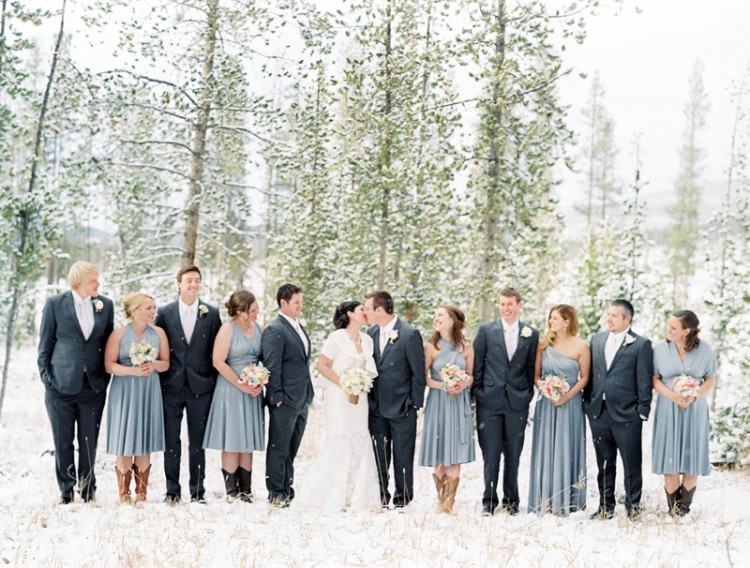 DTR81 750x568 Real Winter Wedding   Devils Thumb Ranch