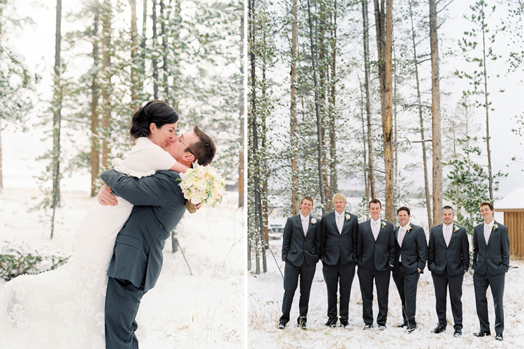 dtr91 Real Winter Wedding   Devils Thumb Ranch