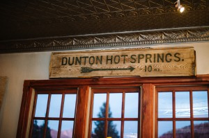 Dunton Hot Springs Wedding