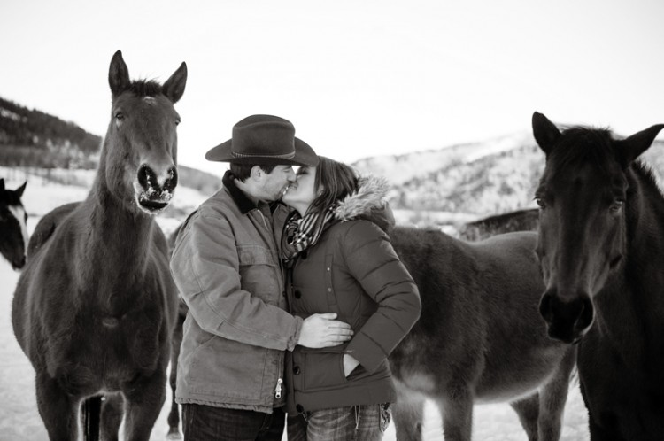 LacelleEng15 750x498 Colorado Ranch Engagement Session