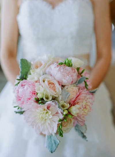 pink peony bouquet - love this day events