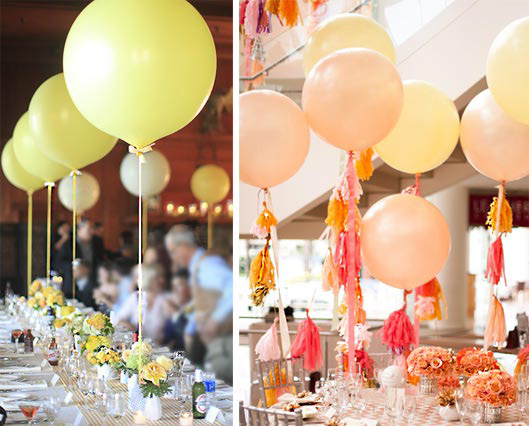 balloons for table decor Balloons