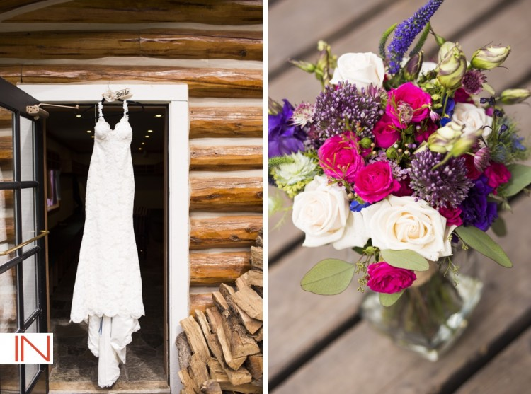 beano's cabin wedding