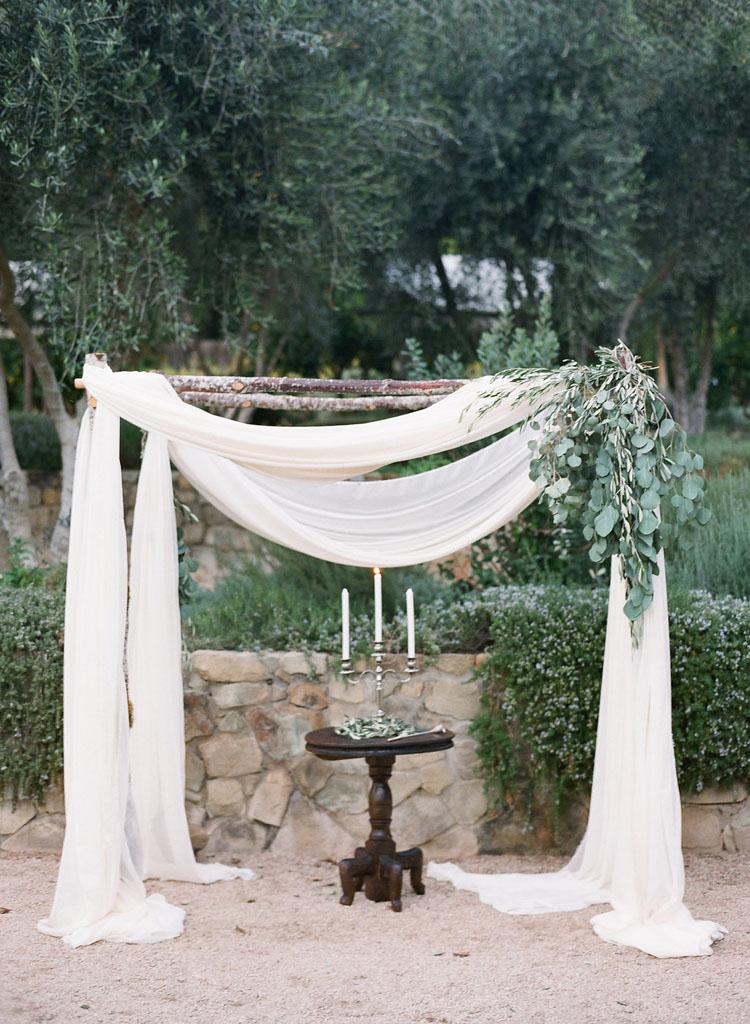 Ojai Valley Inn Wedding Herb Garden
