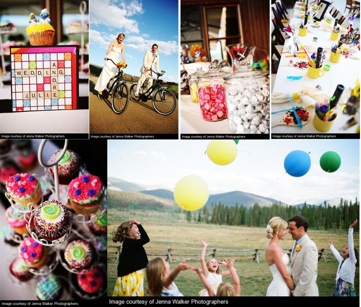 Colorado wedding ideas for kids