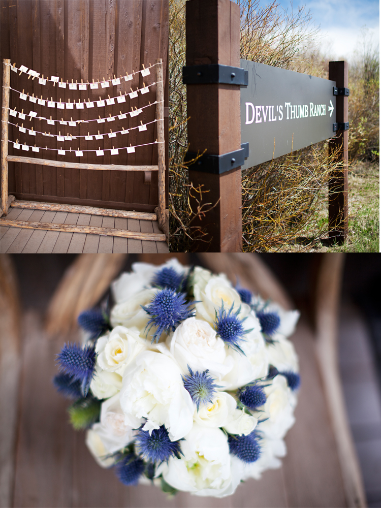 devils thumb ranch wedding 2 Lovely Devils Thumb Ranch wedding by Love This Day Events