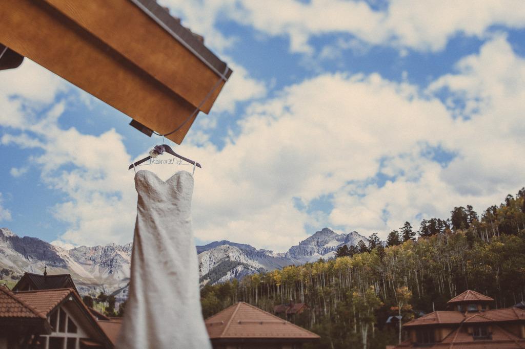 mountain village wedding