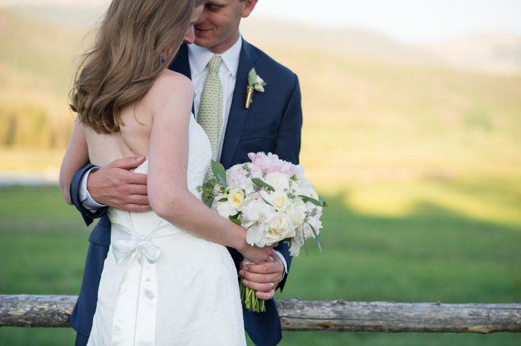Devils Thumb Ranch Wedding Couple